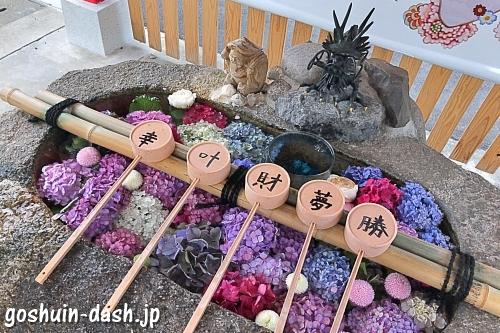 別小江神社(名古屋市北区)の手水舎