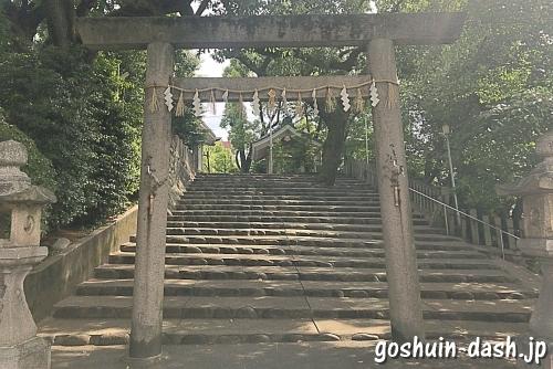 新栄白山神社(名古屋市中区)北鳥居