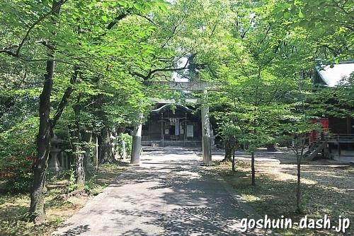 闇之森八幡社(名古屋市)の第二鳥居