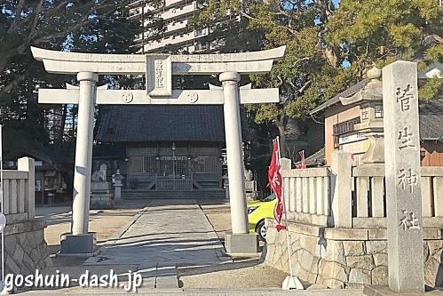 菅生神社(岡崎市)鳥居