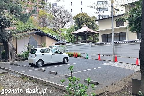 金王八幡宮(東京都渋谷区)駐車場