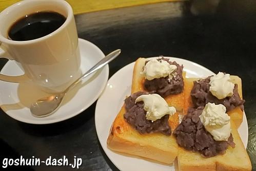 小倉トースト(KAKO BUCYO COFFEE)