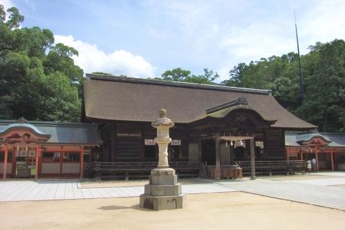 大山祇神社(愛媛県今治市大三島)拝殿