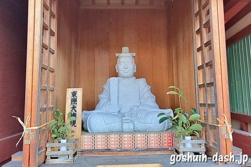 東照大権現(伊賀八幡宮随神門)
