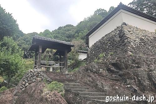 瑞泉寺(愛知県犬山市)裏門