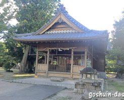 犬山神社(愛知県犬山市)拝殿(社殿)