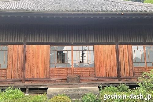 臥龍寺(愛知県犬山市・瑞泉寺塔頭)本堂