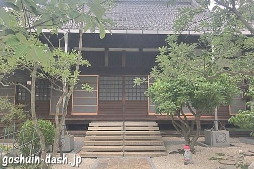 臨渓院(愛知県犬山市・瑞泉寺塔頭)本堂