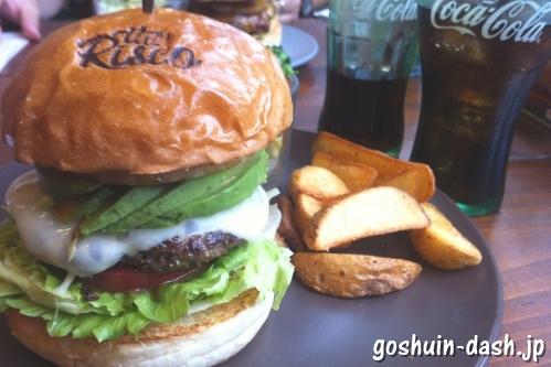 リスコ(THE RISCO)のハンバーガー