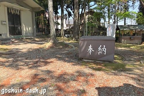 藤森神明社(愛知県名古屋市名東区)境内