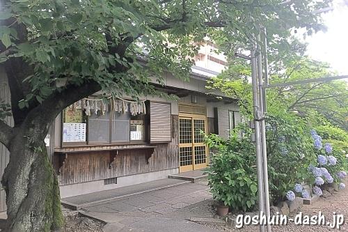 榎白山神社(名古屋市西区)の御朱印受付場所(授与所/社務所)