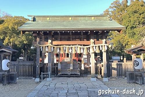 伊賀八幡宮(岡崎市)の神門