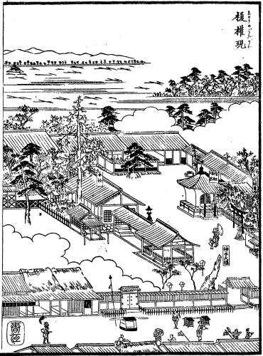 榎権現(白山権現者・榎白山神社・尾張名所図会)