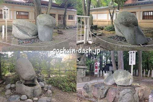田縣神社(愛知県小牧市)奥宮の男茎形