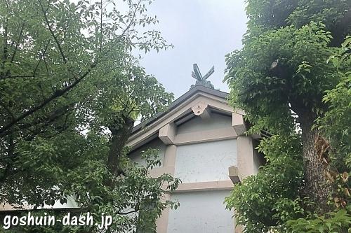 榎白山神社(名古屋市西区)の本殿(社殿)