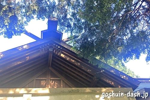 久保一色神明社(愛知県小牧市)の本殿