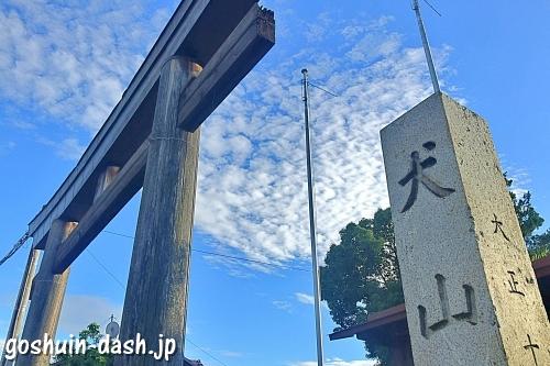 犬山神社(愛知県犬山市)一の鳥居