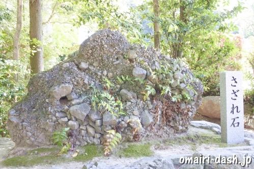 大縣神社(愛知県犬山市)さざれ石