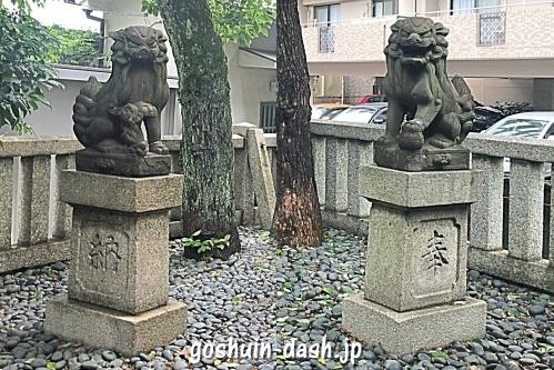 櫻田神社(名古屋市熱田区)の狛犬