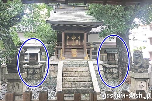 櫻田神社(名古屋市熱田区)の拝殿(小さな社)