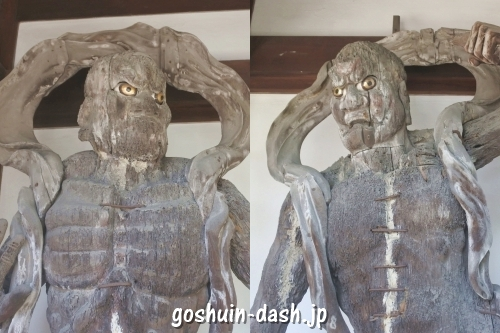 仁王像(如意山宝珠院)