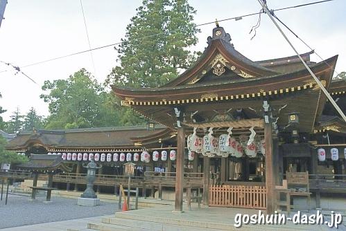 多賀大社(滋賀県犬上郡多賀町)社殿