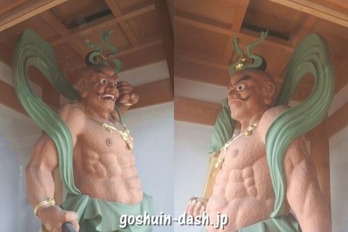 仁王像(名古屋市守山区倶利加羅不動寺)