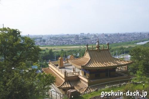 強巴林(チャンバリン・名古屋市守山区)からの眺め
