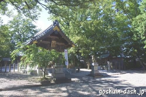 五社宮(名古屋市天白区)拝殿(舞殿形式)
