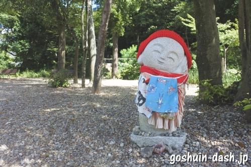 八事山興正寺(名古屋市昭和区)境内のお地蔵様