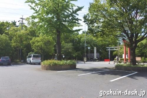 市原稲荷神社(愛知県刈谷市)駐車場