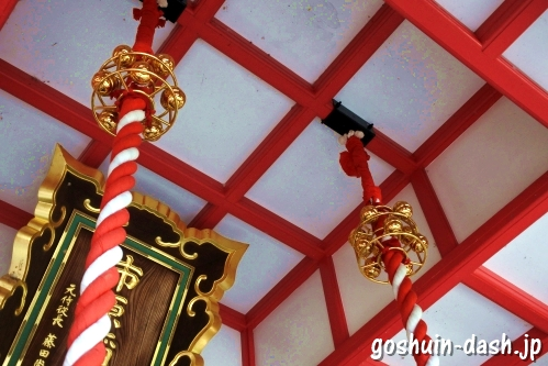 市原稲荷神社(愛知県刈谷市)拝殿