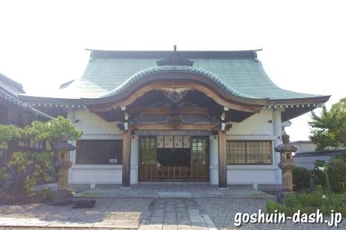 多賀殿・蔵福寺社殿(多賀寿命神)
