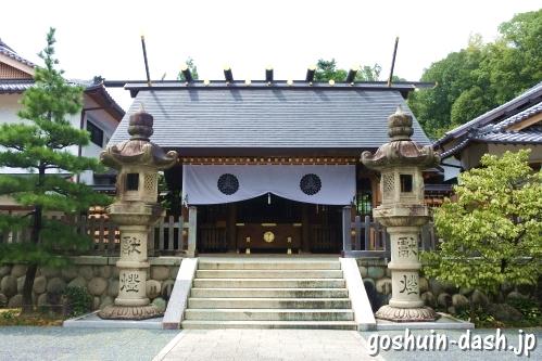八事塩竈神社(名古屋市天白区)拝殿