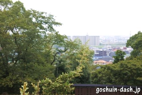 八事塩竈神社(名古屋市天白区)からの眺め