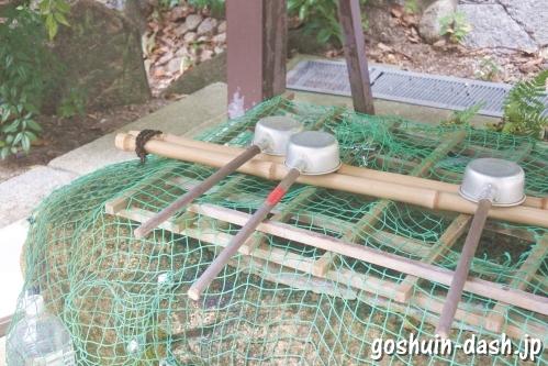 八事神社(名古屋市天白区)手水舎