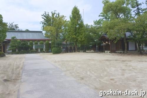 植田八幡宮(名古屋市天白区)駐車場