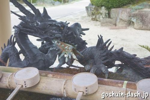 植田八幡宮(名古屋市天白区)手水舎