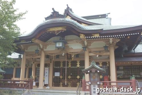 植田八幡宮(名古屋市天白区)拝殿