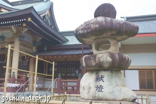 植田八幡宮(名古屋市天白区)石灯籠