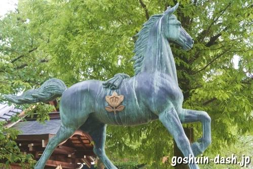 植田八幡宮(名古屋市天白区)神馬