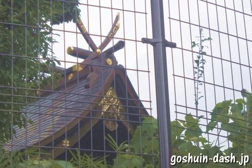 植田八幡宮(名古屋市天白区)本殿