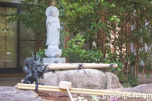 医留薬師如来・蓬莱の水(名古屋長楽寺)