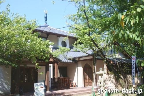 長楽寺(名古屋市南区)客殿(平日の御朱印受付場所)