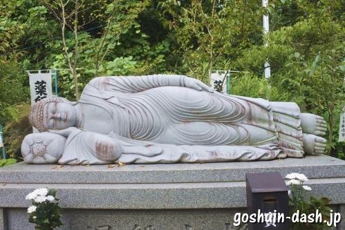 宝寿院(愛知県津島市)釈迦涅槃像