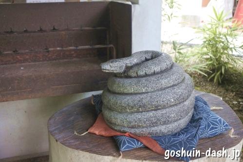 宝寿院(愛知県津島市)重軽さま(蛇)