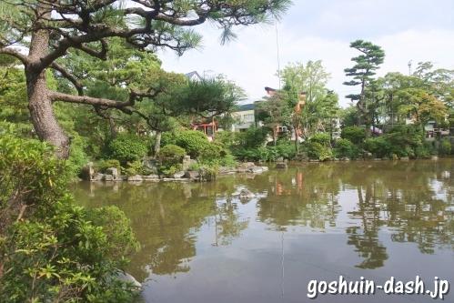 宝寿院(愛知県津島市)池