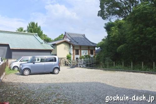 宝寿院(愛知県津島市)駐車場