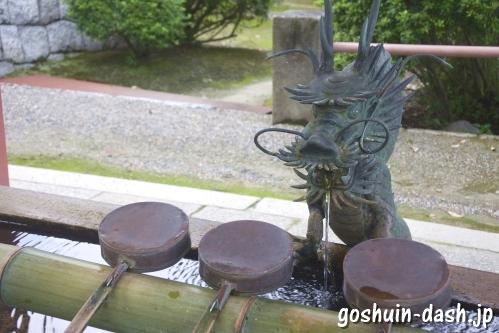 津島神社(愛知県津島市)手水舎