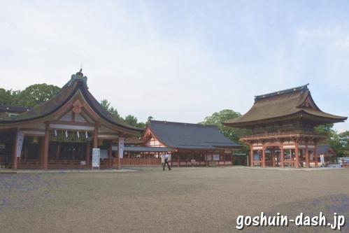 津島神社(愛知県津島市)神符守札授与所(御朱印受付場所)